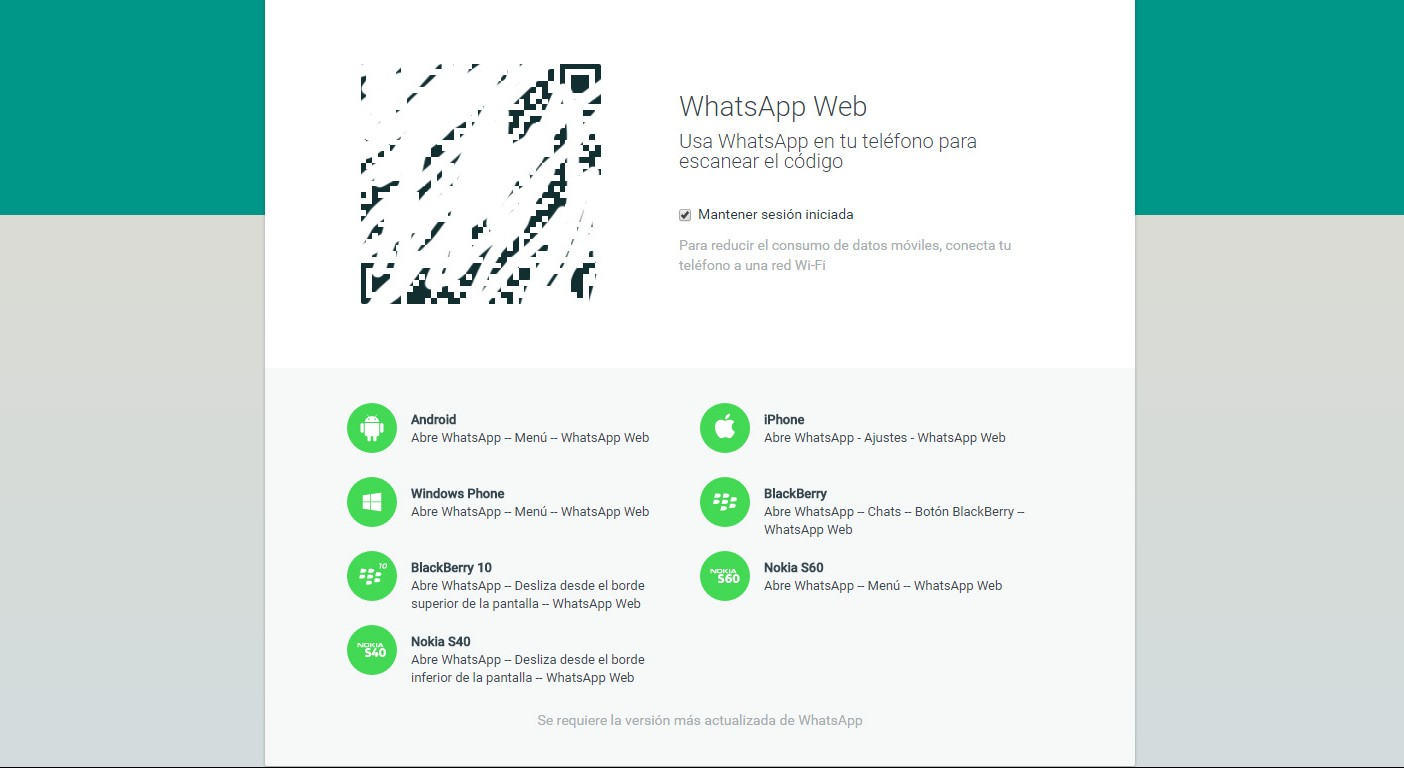 WhatsApp Web ordenador portal - copia