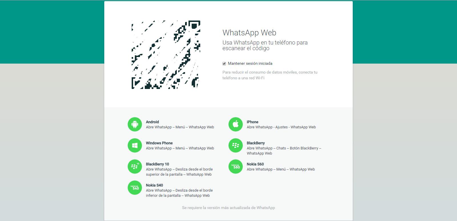 whatsapp web descargar gratis para celular android samsung