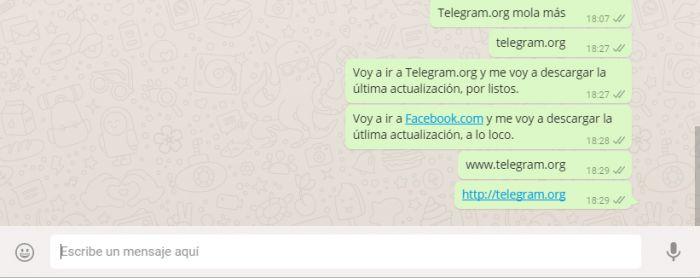 WhatsApp bloquea url Telegram (3)