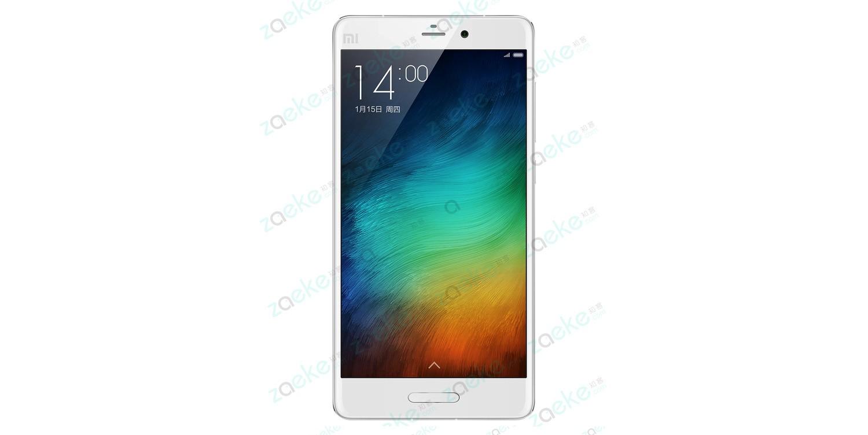 Xiaomi Mi 5 render zaeke - copia
