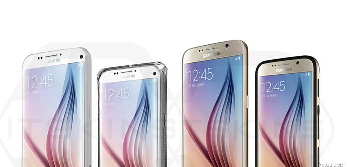 El diseño del Samsung Galaxy S7 y variantes, al descubierto