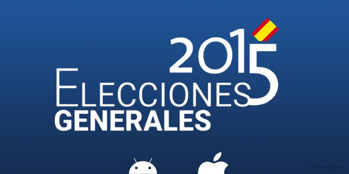Sigue las Elecciones Generales del 20-D con la app oficial