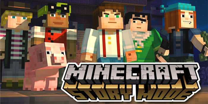 rebaja de minecraft story mode