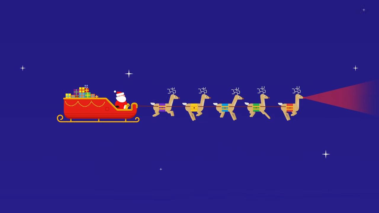 Sigue a Papá Noel gracias a esta app de Google