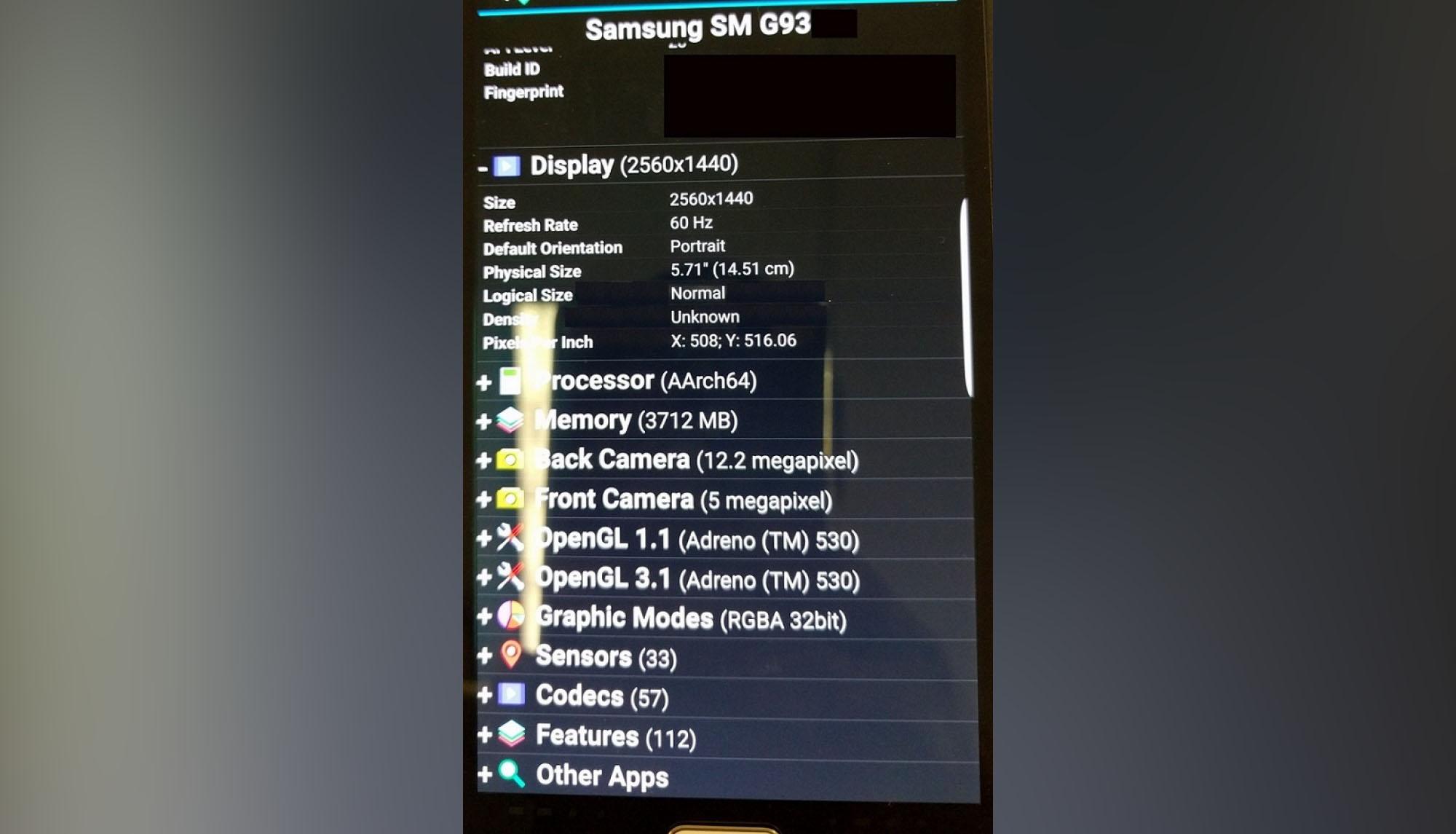 Galaxy S7 edge+ filtraciones especificaciones