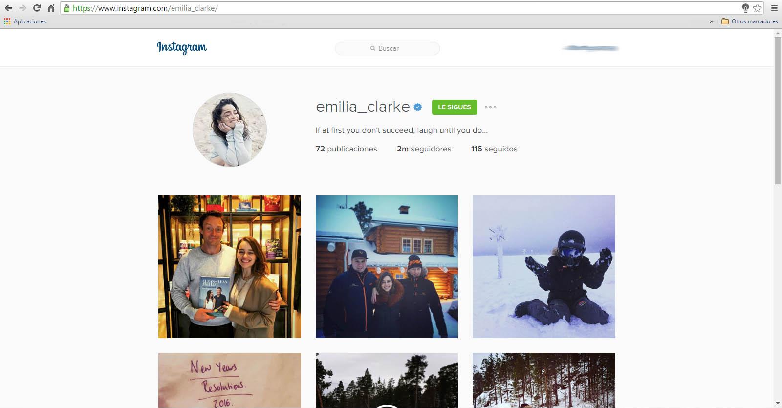Instagram web emilia clarke2