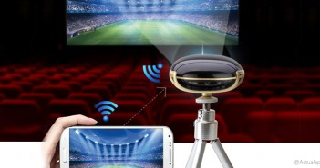 Adayo P2, así es este proyector para smartphones
