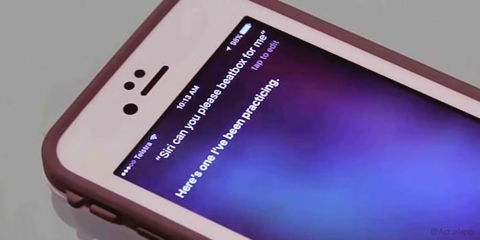 ¿Sabías que Siri hace beatbox? Este es el resultado