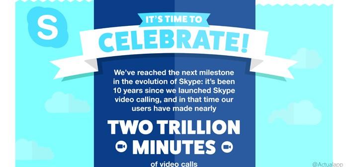 Skype ya permite videollamadas grupales gratis en iOS y Android