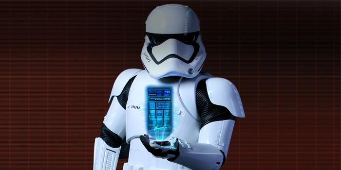 Stormtrooper smartphone