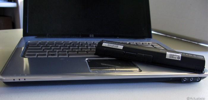 Cinco trucos para que la batería del portátil no se dañe