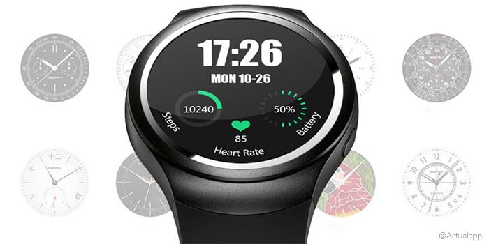 Smartwatch K9, con monitor de ritmo cardíaco y GPS
