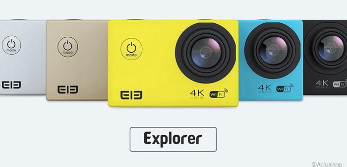 Elephone ELE Explorer, una cámara de acción con 4K por 62€