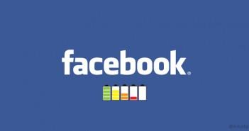 Desinstalar la app de Facebook puede ahorrarte hasta el 20% de batería