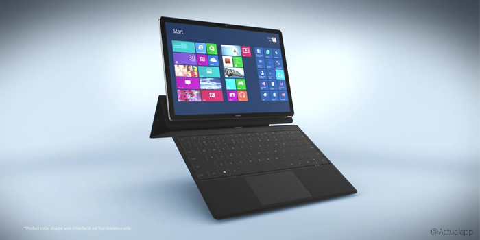 Huawei Matebook, la nueva gran tablet enfocada a la productividad