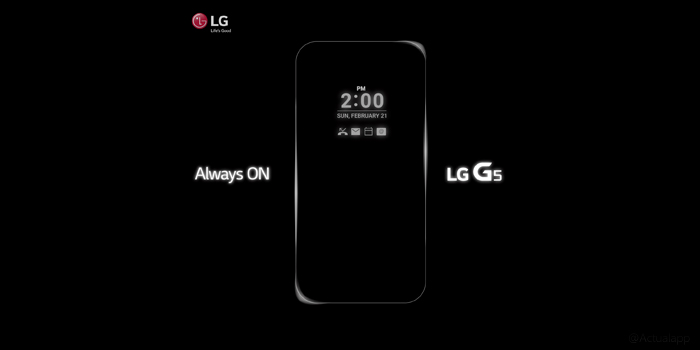 LG G5: Snapdragon 820 confirmado y doble pantalla rumoreada