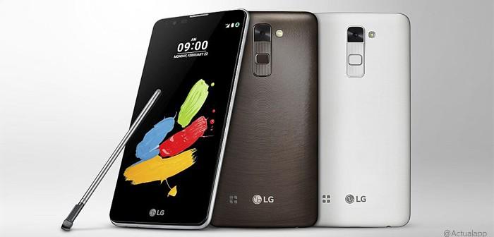 LG Stylus 2, otro más de LG que se presentará en el MWC16