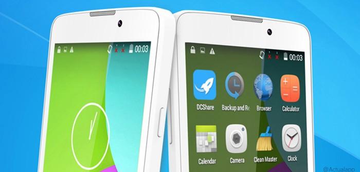 TCL 302U, un smartphone básico de Alcatel por menos de 90€