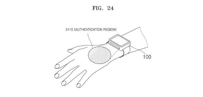 Samsung patenta un escáner de venas para un smartwatch