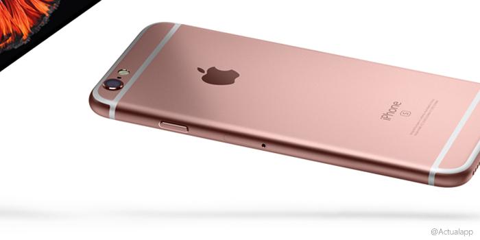 Apple lanzaría un iPhone 5se rosa junto al plata y gris espacial