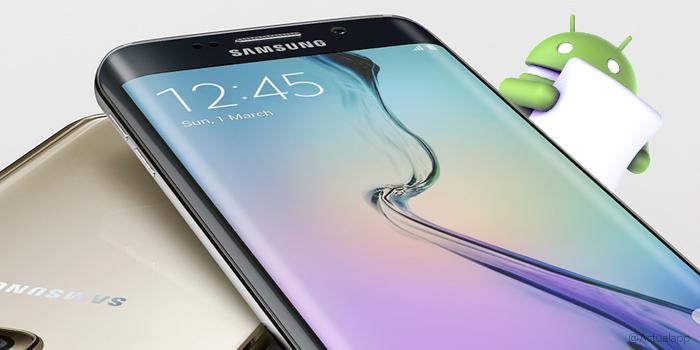 Samsung Galaxy S6 / S6 edge se actualiza a Marshmallow
