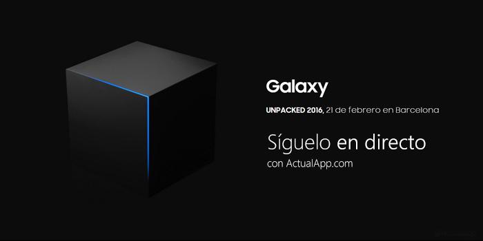 Sigue en directo la presentación del Samsung Galaxy S7