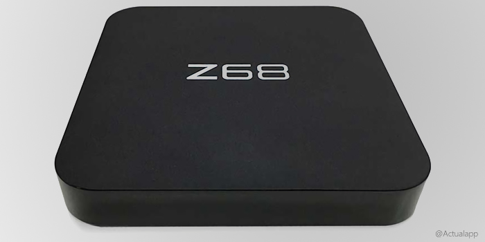 Z68, una TV-Box Android con Wi-Fi y HDMI 2.0 muy económica