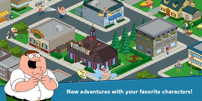 Family Guy En Búsqueda 1