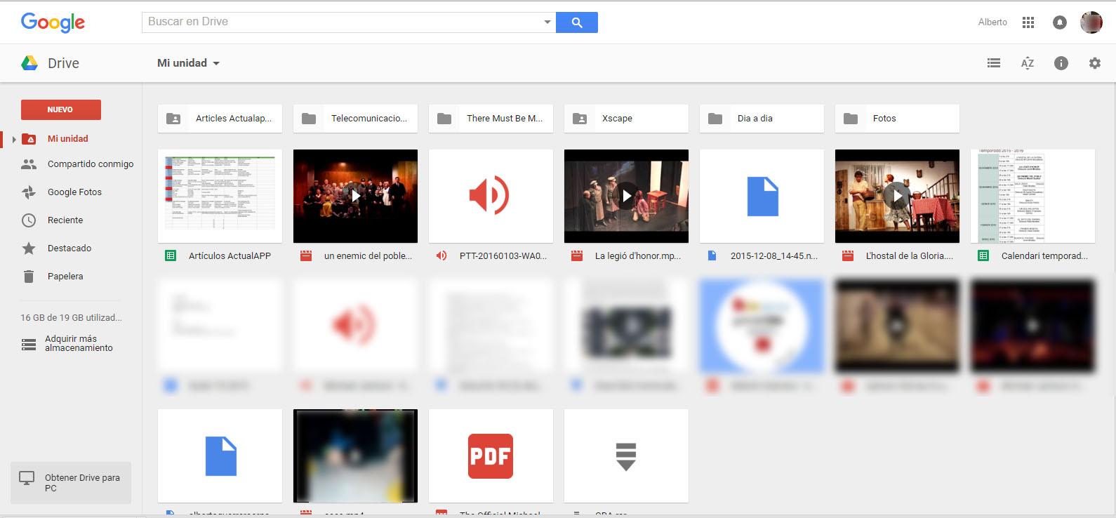 google drive captura transferir1