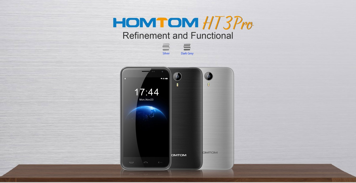 homtom ht3 pro refinement and functional