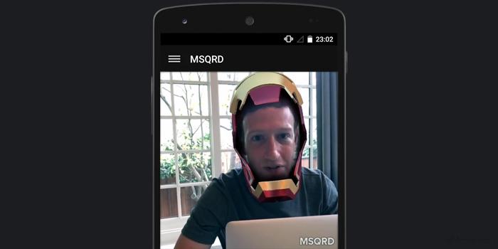 Mark Zuckerberg anunciando la llegada de Mascarade a Facebook