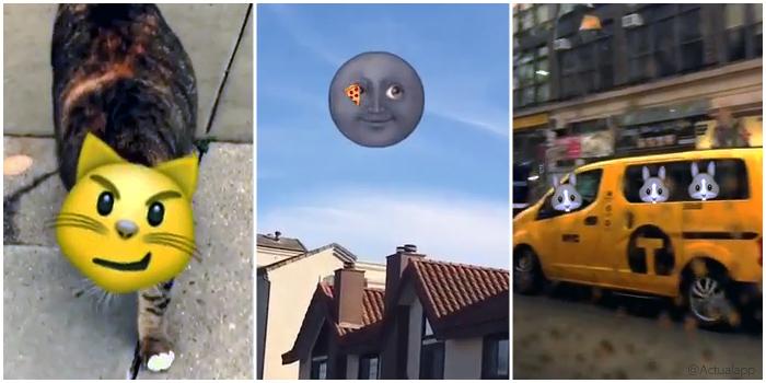 Snapchat 3D Sticker portada actualapp
