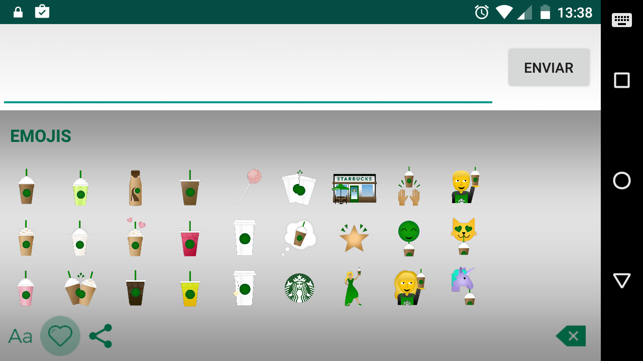 Starbucks Keyboard Screenshot_20160426-133859 - copia
