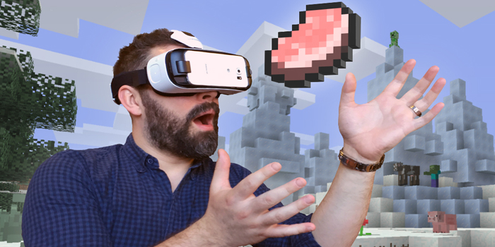 Minecraft Gear VR Edition