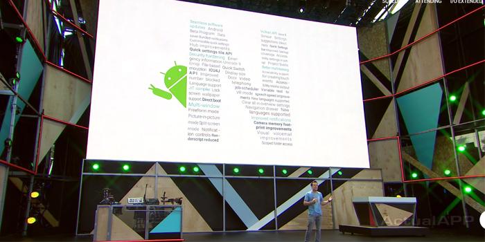 Android N google io 2016 portada actualapp