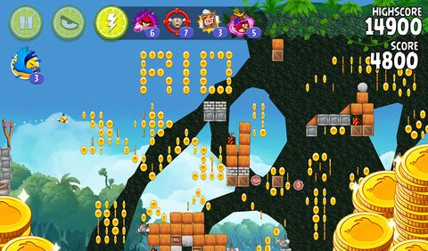 Angry Birds Rio screen480x480