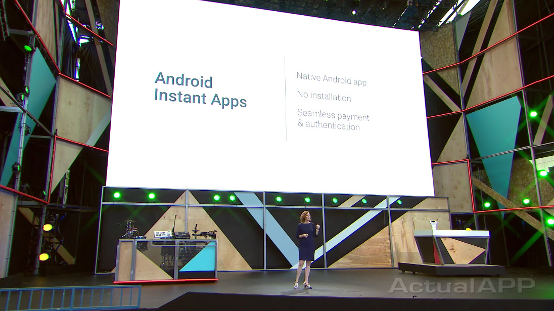 android instant apps google io 2016 pantalla