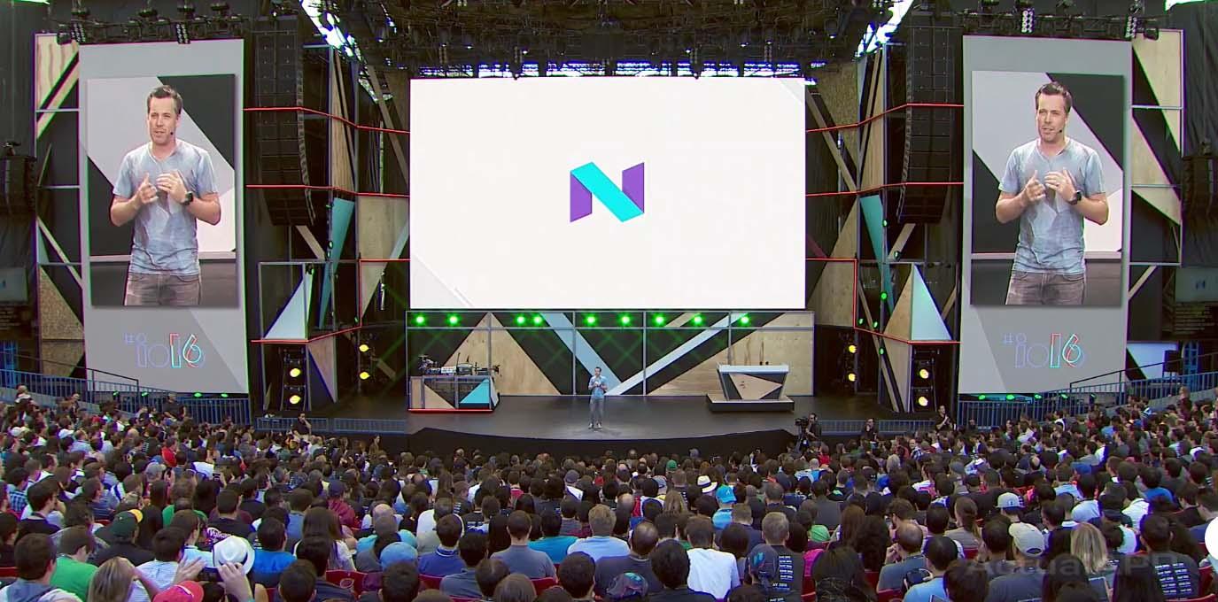 android n pantalla google io 2016