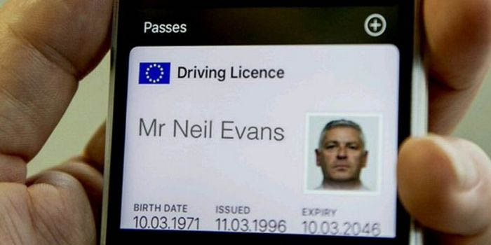 carnet de conducir en nuestro Smartphone
