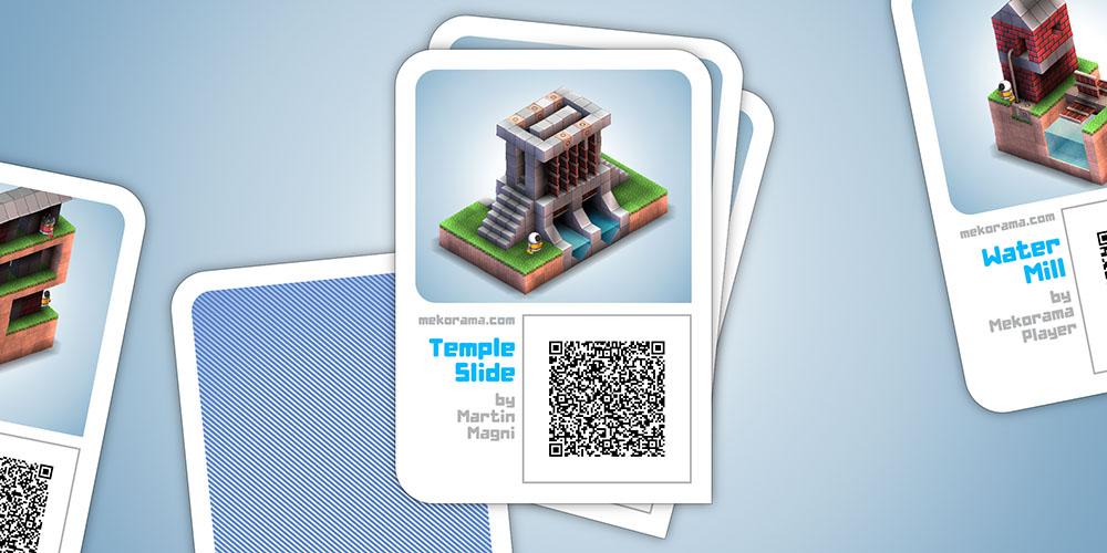 Ejemplo de nivel creado, listo para escanear y ser jugado por otro usuario