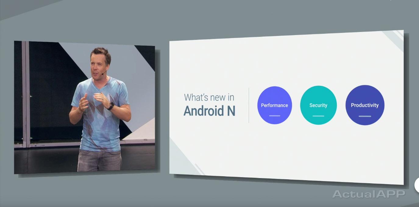 novedades android n google io 2016