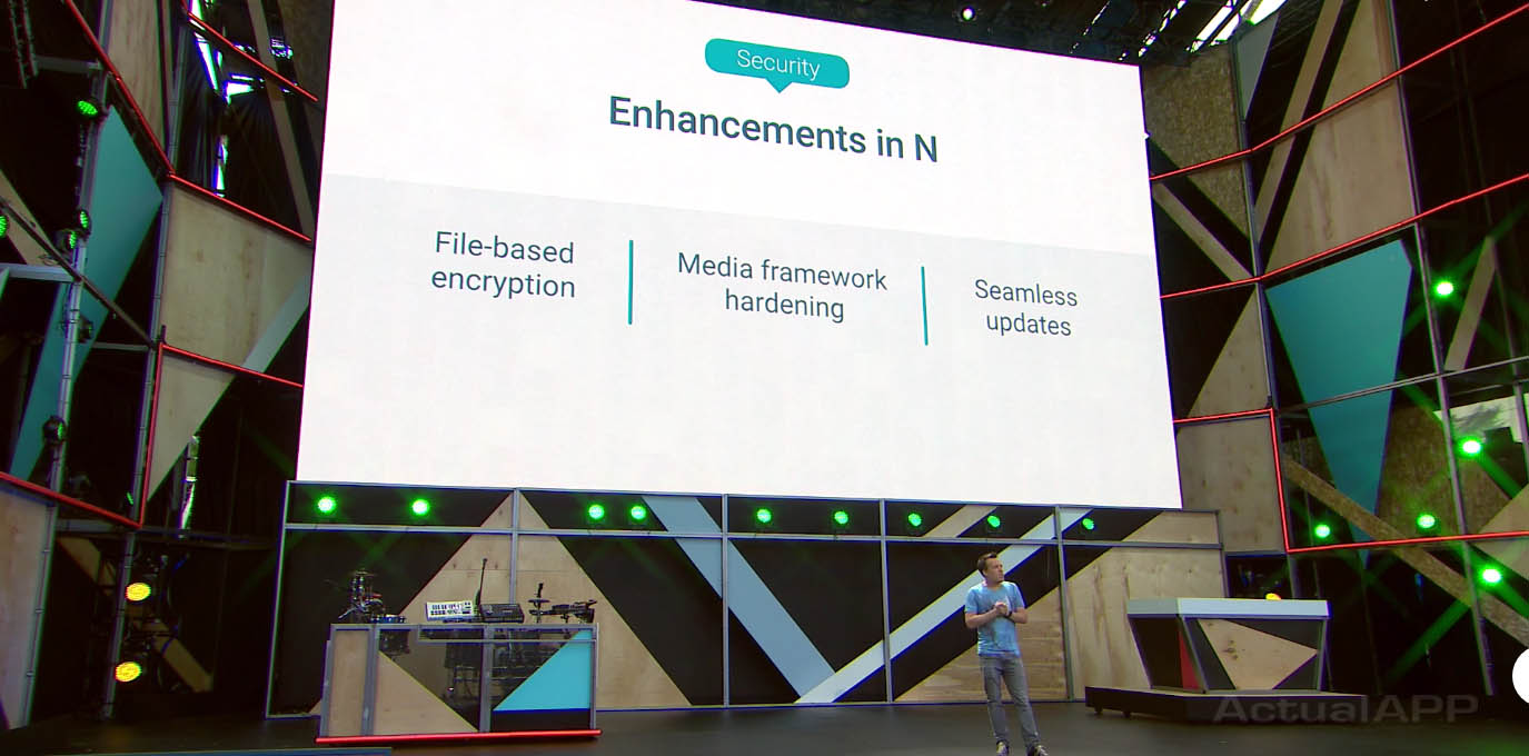 seguridad android n google io 2016