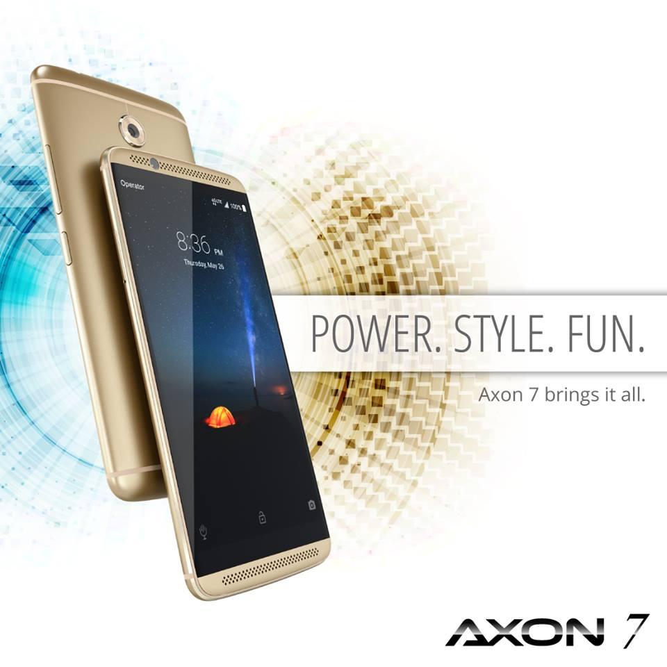 zte axon 7 resumen
