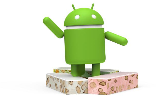 Android Nougat figura