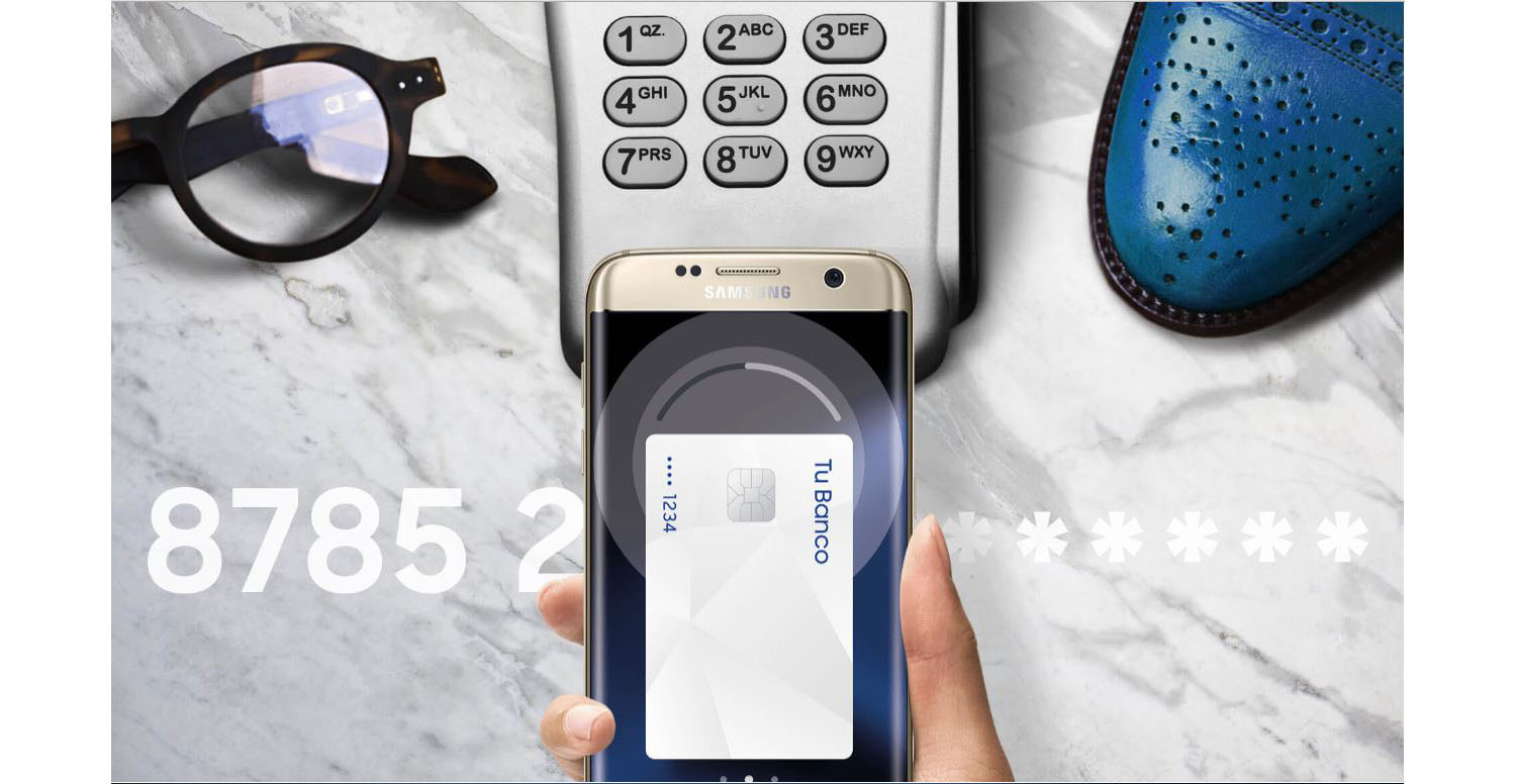 Samsung Pay pago banco