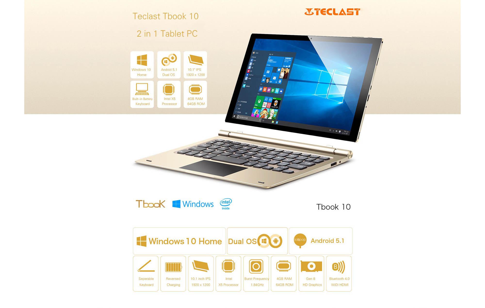 Teclast TBook 10 1460076955425797