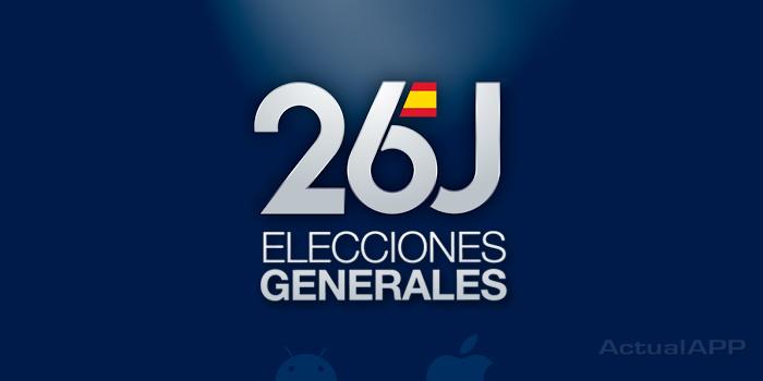 Sigue las elecciones generales 2016 con la app oficial for Ministerio de interior elecciones 2016