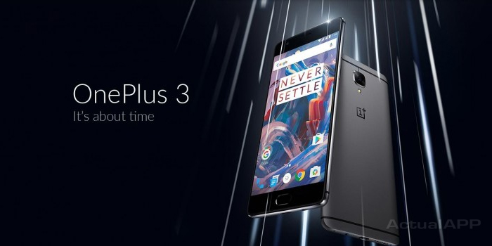 oneplus 3 exclusiva amazon india actualapp portada