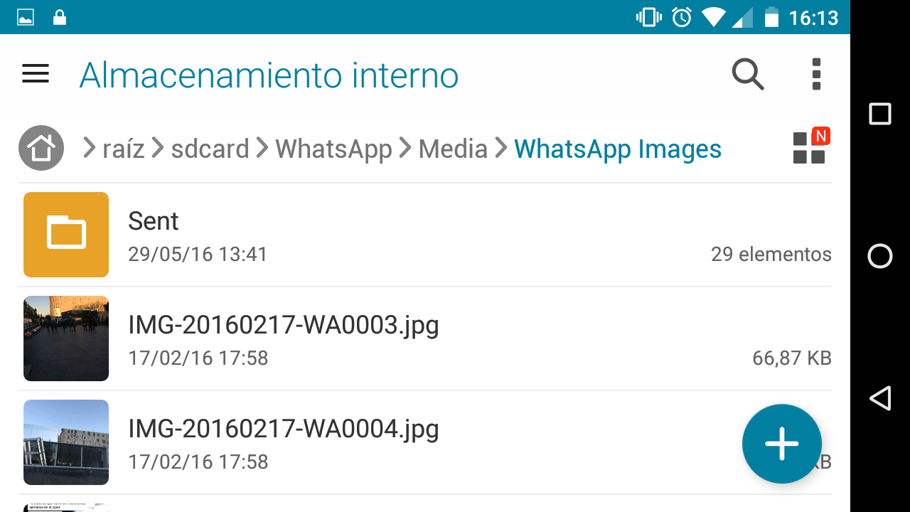 whatsapp liberar espacio Screenshot_20160601-161322 - copia