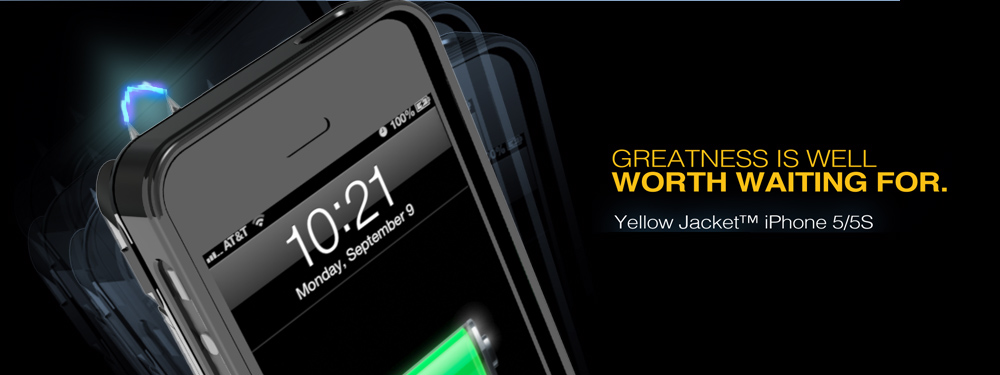 yellow jacket carcasa taser iphone 5